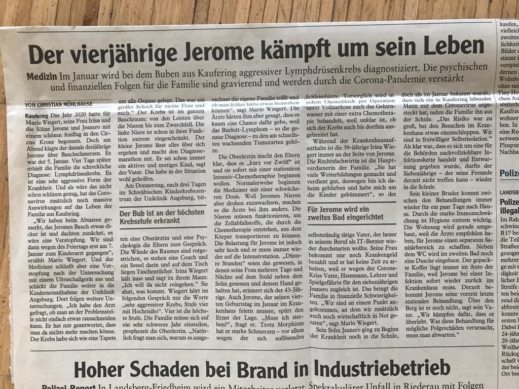 Augsburger Allgemeine 29. Juni 2020